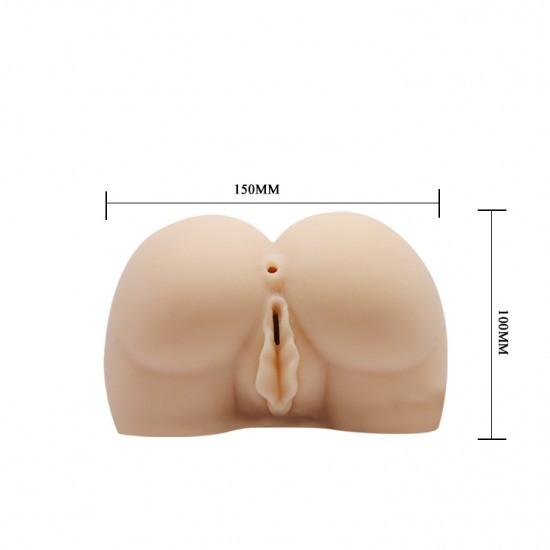 kích thước Âm đạo silicon giả mông thật